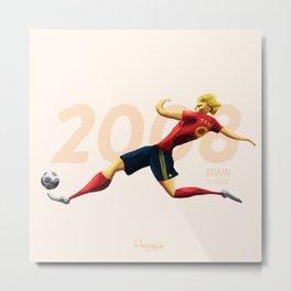 Euro History - Torres 2008 Metal Print