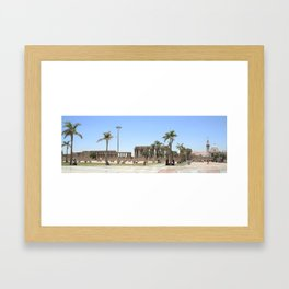 Temple of Luxor, no. 18 Framed Art Print