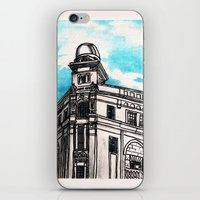philippines iPhone & iPod Skins featuring Philippines : Regina Building by Ryan Sumo