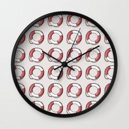 Lifebuoy Wall Clock
