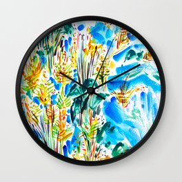 M Street Beach Wall Clock