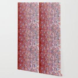 Polka dot et Line Wallpaper