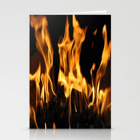 Fires of Hell Stationery Cards