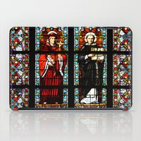 stained glass iPad Cases featuring Stained glass by Marieken