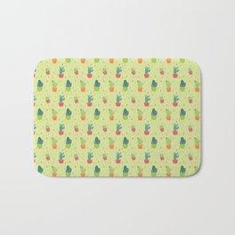 Cactus Party Pattern Bath Mat