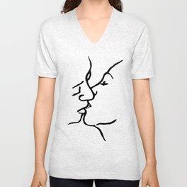 Frida's kiss Unisex V-Neck