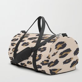 B&B Leopard Design Duffle Bag