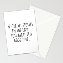A Good One Stationery Cards