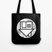 the neighbourhood Tote Bags featuring The Neighbourhood by Nicole Corder