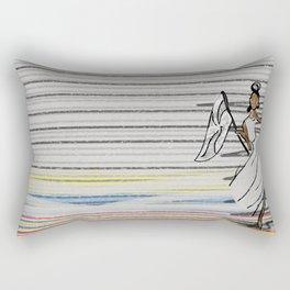 Porta-bandeira / Flag bearer Rectangular Pillow