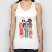 spice girls Tank Tops featuring The Spice Girls by Angela Dalinger