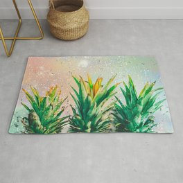 Party Pineapple Rug