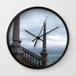 """untitled (Sitges) """"A SAFE PLACE"""" series Wall Clock"""