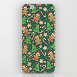 Gingerbread Men iPhone Skin