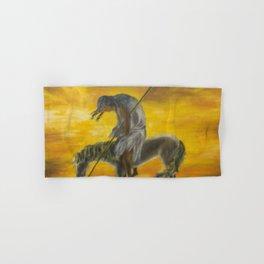 Indian on a horse Hand & Bath Towel