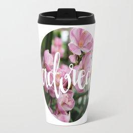 Adored - Botanical  |  The Dot Collection Travel Mug