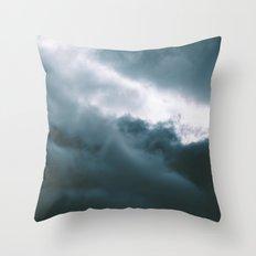 Clouds X Throw Pillow
