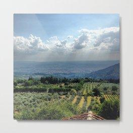 Tuscan Summer Metal Print
