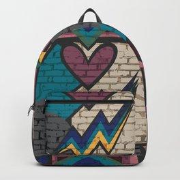 LA Brick Art Backpack