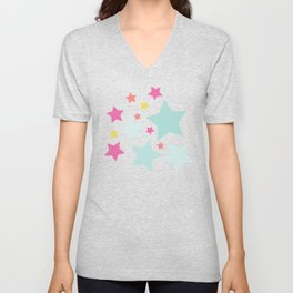 All About the Stars - Style F Unisex V-Neck