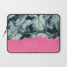 Pink Sorbet on Jungle Laptop Sleeve
