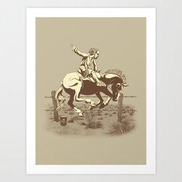 Dude Ranch Art Print