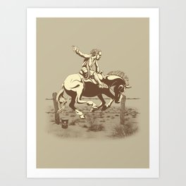 Dude Ranch Art Print