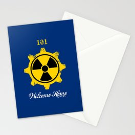 Vault 101 Stationery Cards