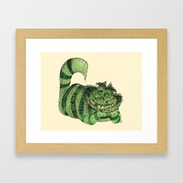 Cheshire Framed Art Print