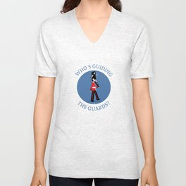 Guess who's   Unisex V-Neck