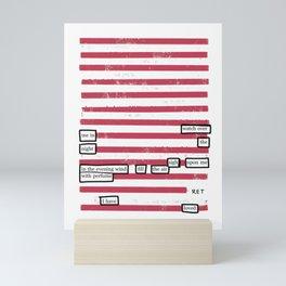 I Have Loved Mini Art Print