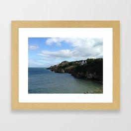 The Coast of Howth, Ireland Framed Art Print