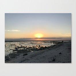Sunset at Gili Trawangan Island | Travel photography Indonesia | Adventure in Asia Canvas Print