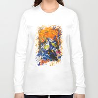 moto Long Sleeve T-shirts featuring Moto Splash by Echo9Studio