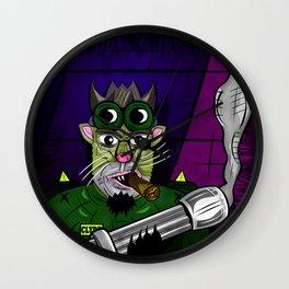 Kitty Commando Wall Clock