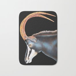 Sable Antelope Bath Mat