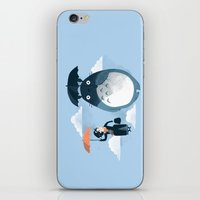 faces iPhone & iPod Skins featuring The Perfect Neighbor by Anna-Maria Jung