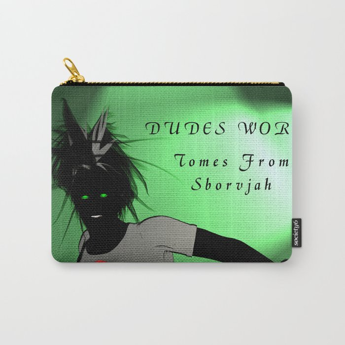 Dudes World: Tomes from Sborvjah Carry-All Pouch