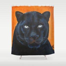 Bagheera Shower Curtain