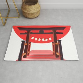 Japan Torii Rug