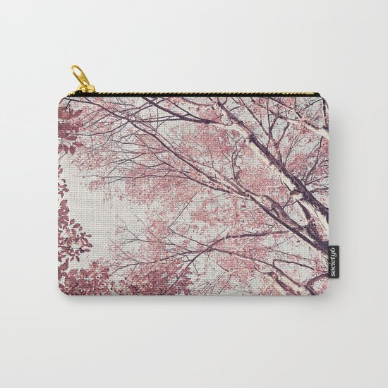 The Trees – Pink n' Bright Carry-All Pouch