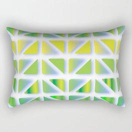 Geometric Forest Rectangular Pillow
