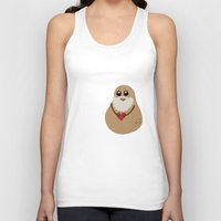 potato Tank Tops featuring Plato Potato by geeksweetie