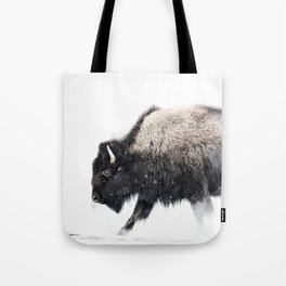 Prancing Buffalo Tote Bag