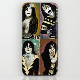 The Great Kiss iPhone Skin