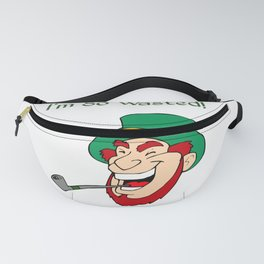 I'm So Wasted St. Patrick's Day Leprechaun Fanny Pack