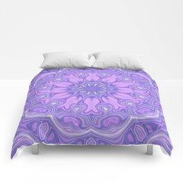 Purple Kaleidoscope Comforters