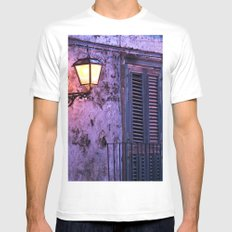 Lantern - Facade - Forza d'Agro - Sicily Mens Fitted Tee White MEDIUM