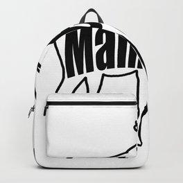 Maine Moose Backpack