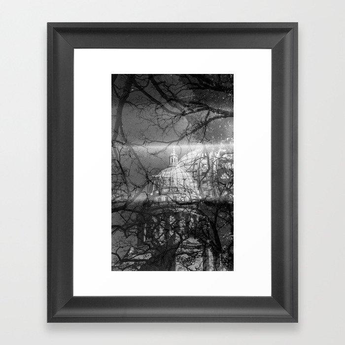 Madison State Capitol Framed Art Print